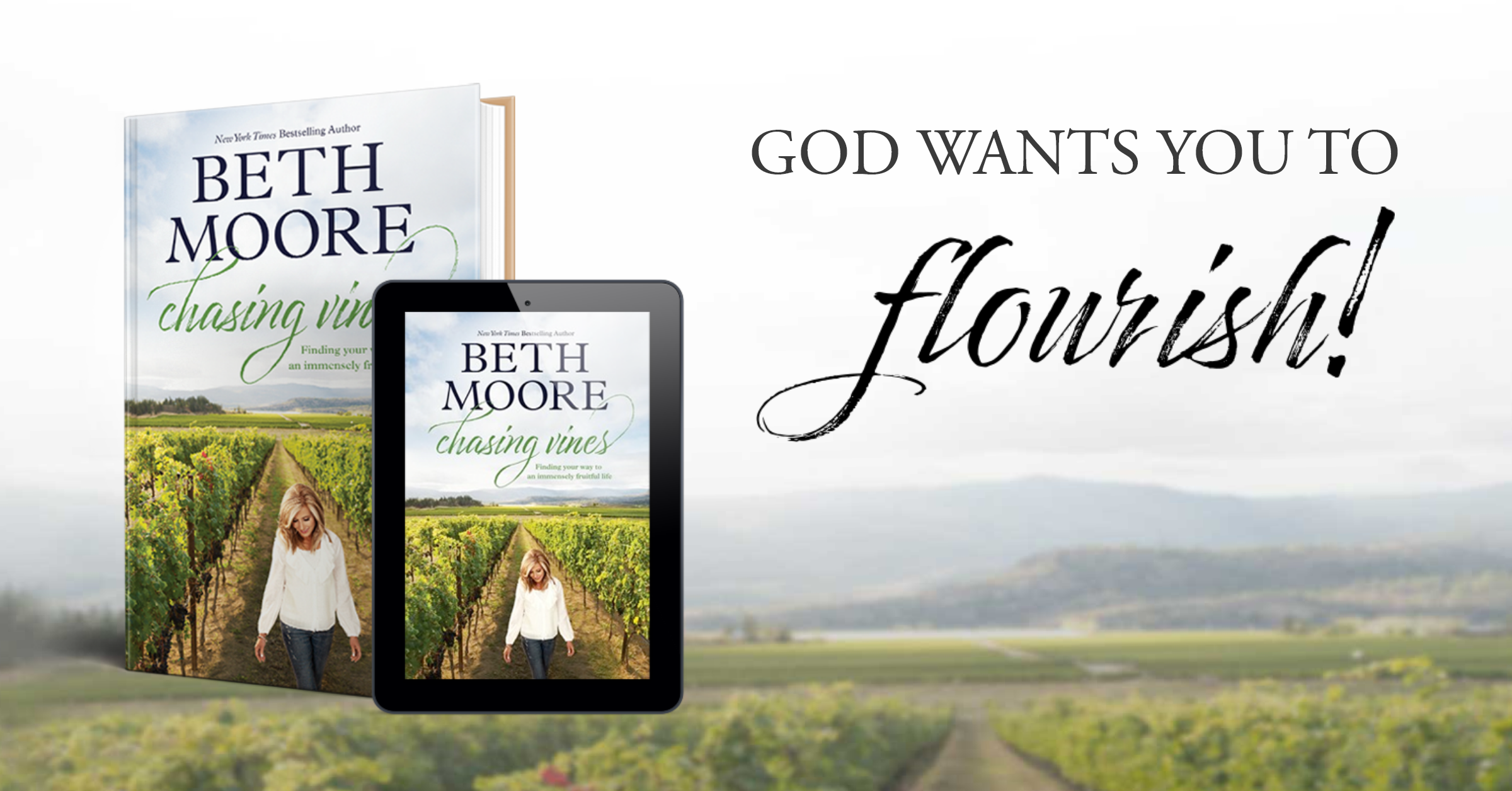 Chasing Vines By Beth Moore Tyndale House Publishers