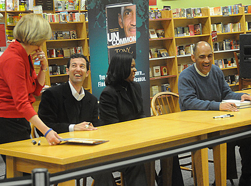 Tony & Nathan at booksigning at Borders in Indianapolis