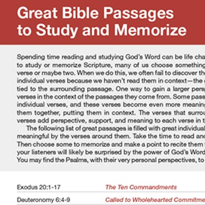 Inset view of a HelpFinder Bible passage from the NLT