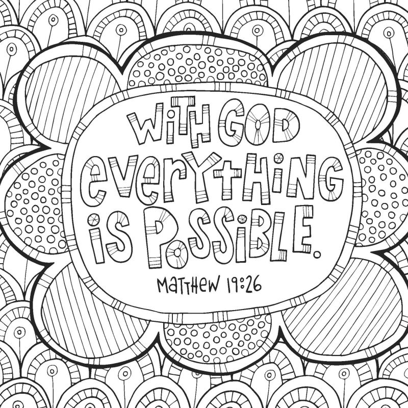 Free Coloring Devotional Pages For Teens – The Arc