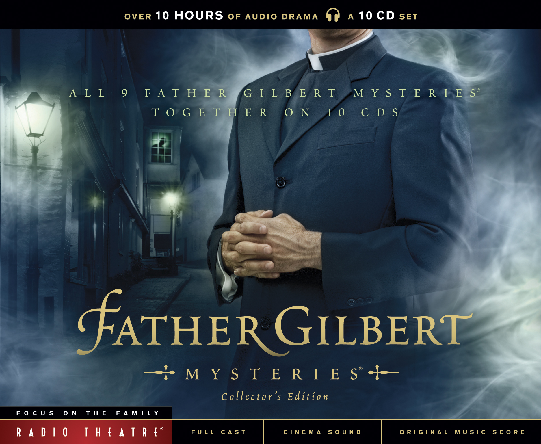 father gilbert mysteries collectors edition cd cover