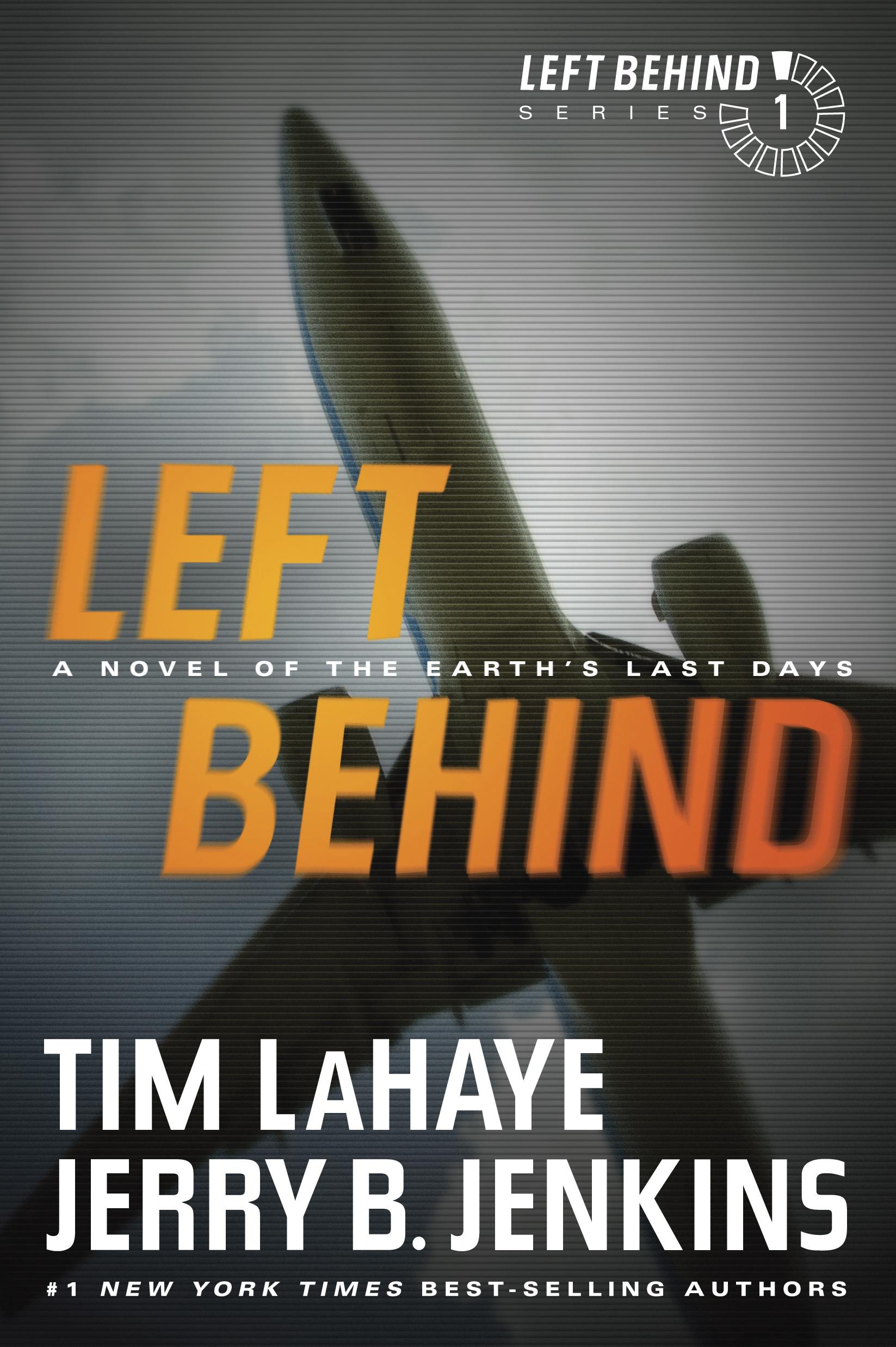 left behind a novel book cover