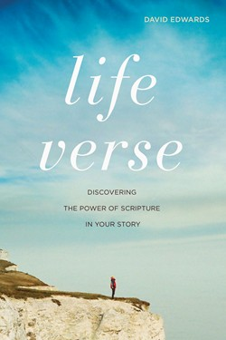 Book cover of Life Verse by David Edwards, published by NavPress