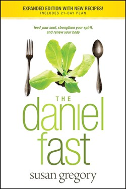 Book cover of The Daniel Fast by Susan Gregory published by Tyndale House