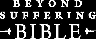 Beyond Suffering BIble logo