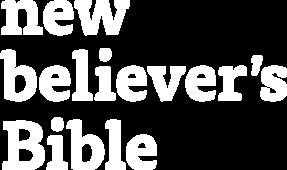 New Believer's Bible logo