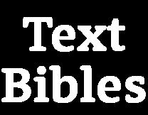 Text Bibles logo