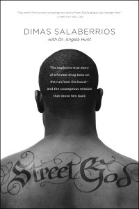 Front cover image of Street God, one of the recommended resources for this week's episode in our Christian testimony podcast.