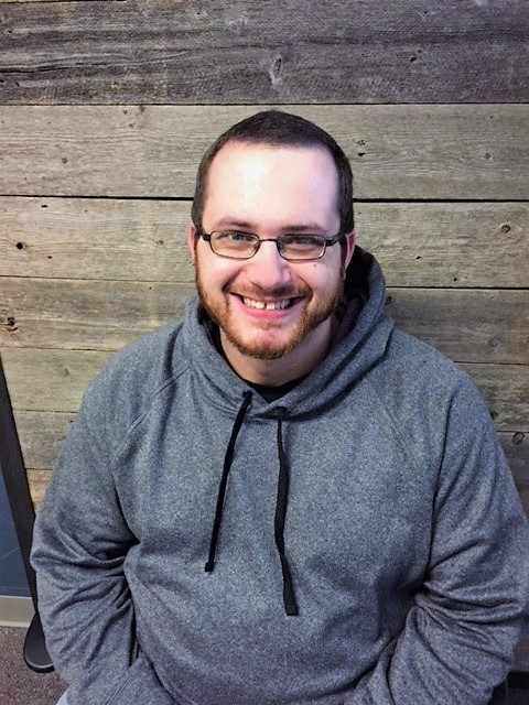 A picture of Zach, this week's guest speaker on Unfolding Stories podcast!