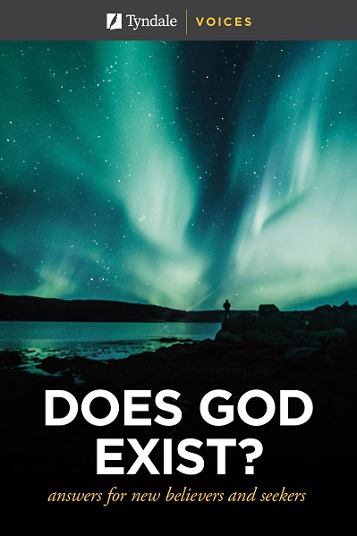 Cover image of Does God Exist? sampler from Tyndale Voices.