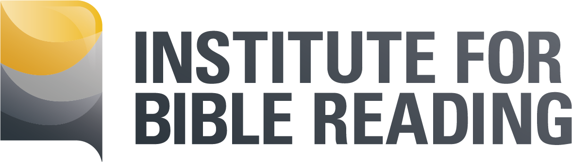 Institute for Bible Reading logo