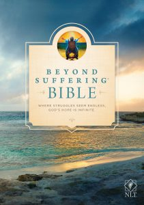 Front Cover image of the Beyond Suffering Bible. Best study Bibles.