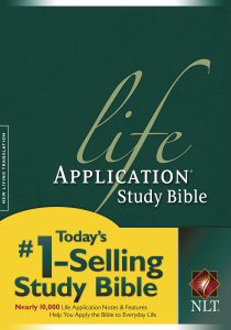 Front Cover image of the Life Application Study Bible. Best study Bibles.