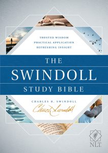 Front Cover image of the Swindoll Study Bible. Best study Bibles.