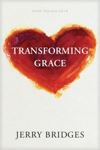 Front cover image of the book Transforming Grace, a recommended resource from this week's Unfolding Stories testimony podcast episode.