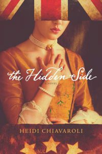 Front cover image of our guest blogger's fiction book The Hidden Side. Available for purchase from tyndale.com.